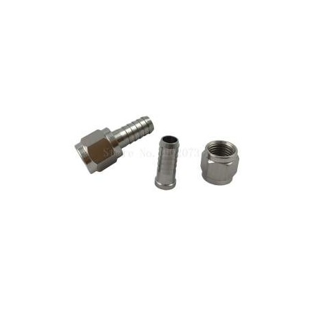 "Stainless steel connector 7/16"", 7mm"