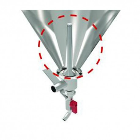Grainfather Conical Fermenter Dual Valve Inlet