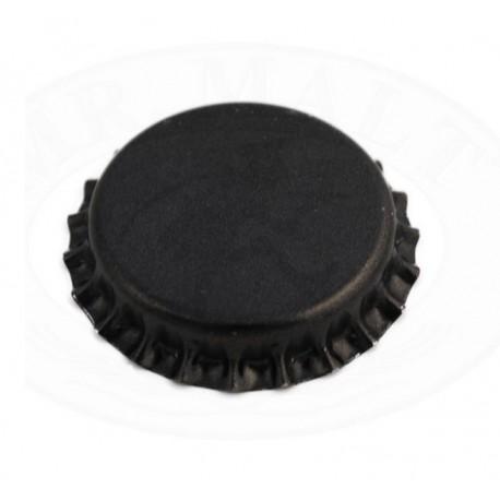 Črni kronski zamaški 26mm - 100