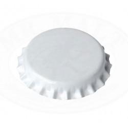 Beli kronski zamaški 26mm - 100