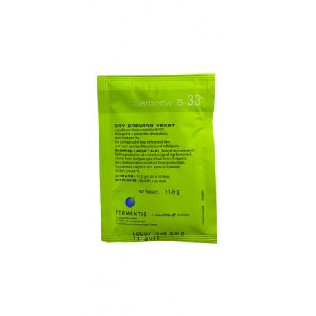 Fermentis Safbrew S-33 - 11,5g