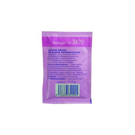 Fermentis Saflager W-34/70 - 11,5g