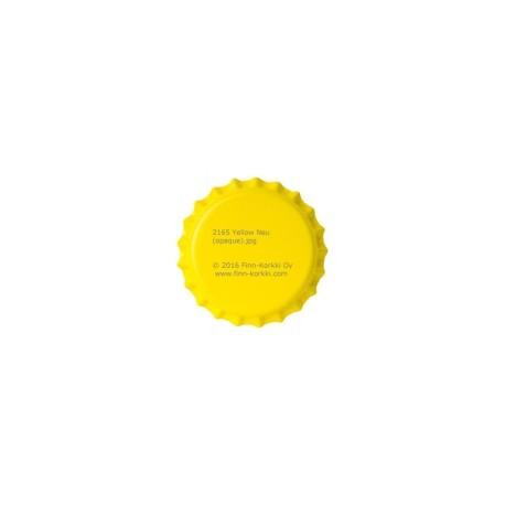 Žuti krunski čepovi 26mm - 100