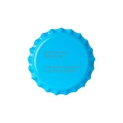 Svetlo modri kronski zamaški 26mm - 100