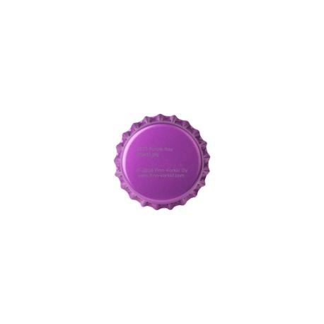 Purple bottle caps 26mm - 100