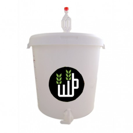 Complete plastic fermentor 32L